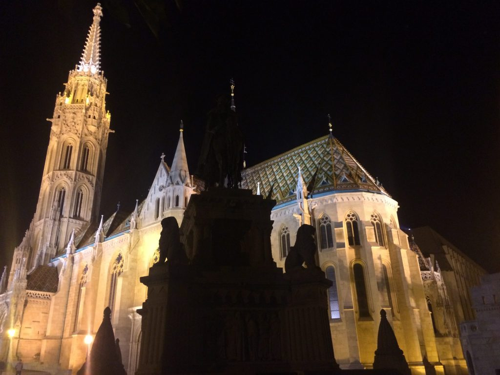 Fairy Tale Castles of Budapest, Matthias Church, Girl Who Travels the World