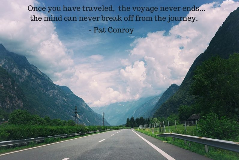 Great Travel Quotes, Pat Conroy