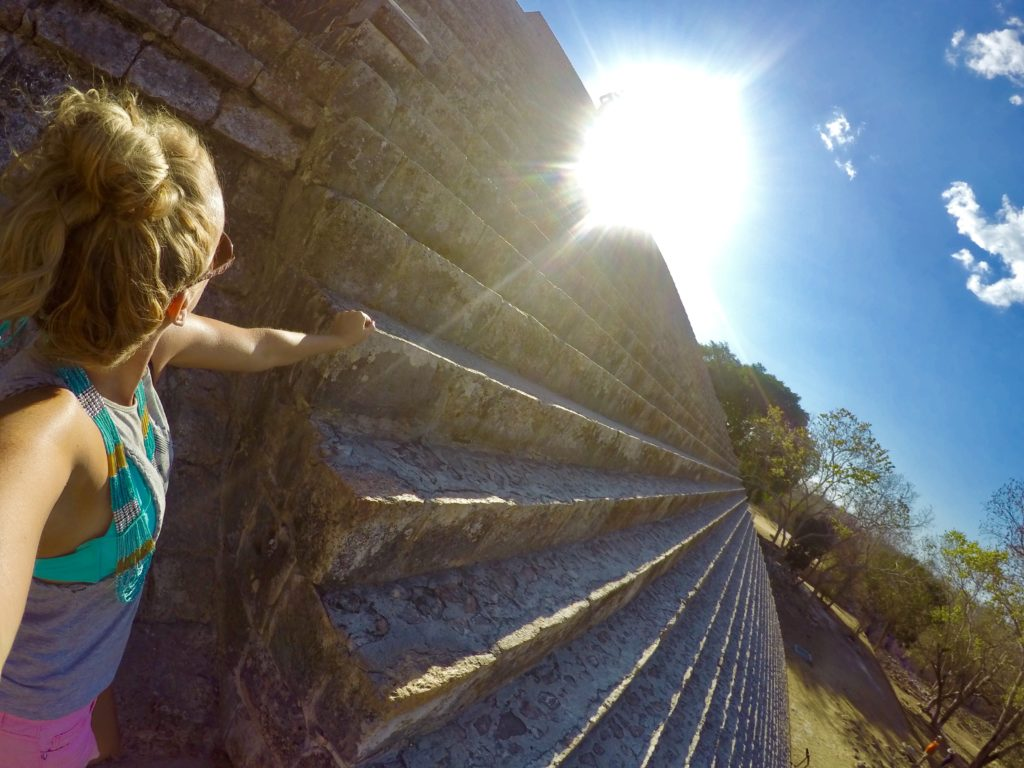 Uxmal Ruins in Mexico, Girl Who Travels the World