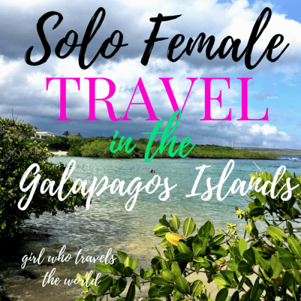 Solo Female Travel in Galapagos Islands
