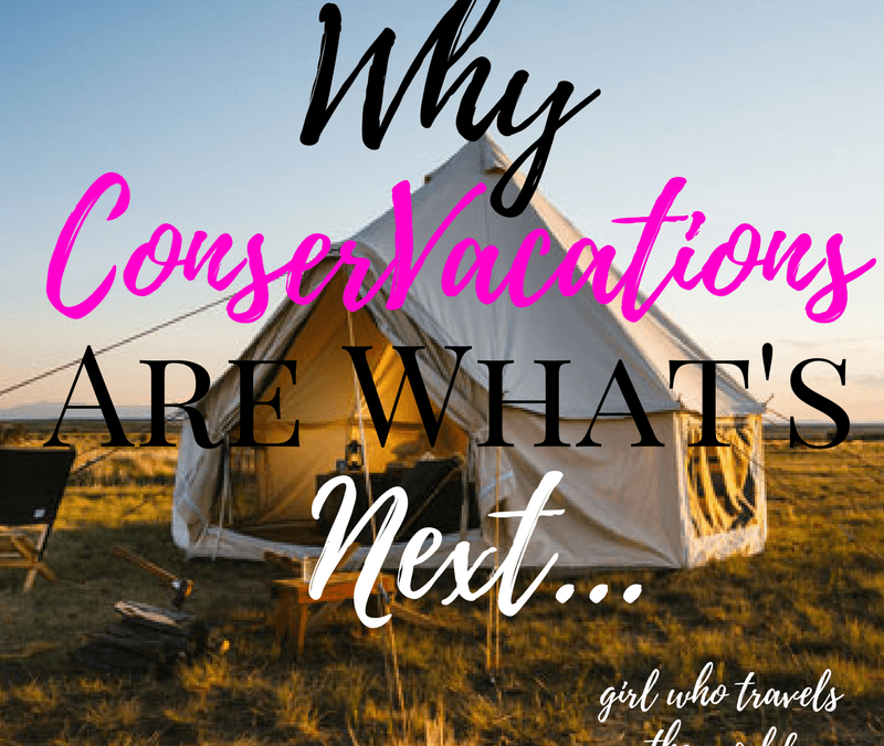 Why ConserVacations are What's Next..