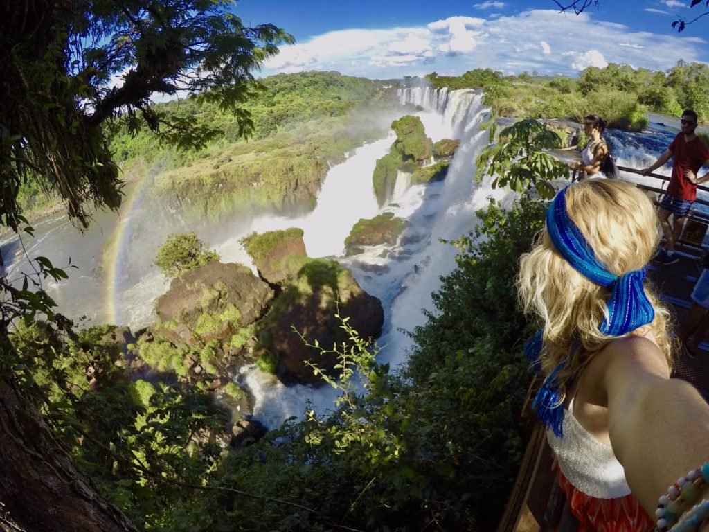 Solo Female Travel at Iguazu Falls, Girl Who Travels the World