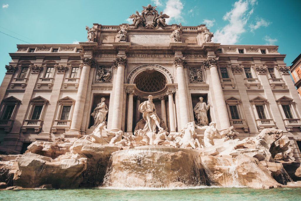 20 Photos to Inspire Your Italy Travels, Girl Who Travels the World, Trevi Fountain, Rome