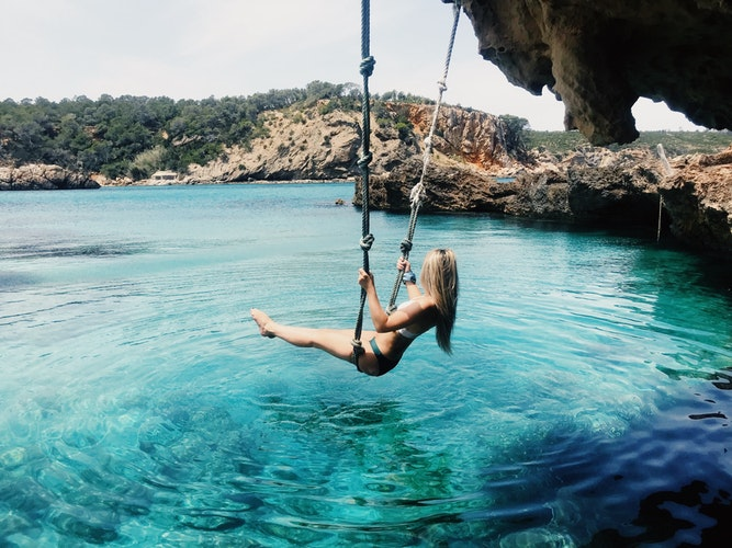 Ultimate Girl's Guide to Spain Travel, Girl Who Travels the World, Ibiza, Playa Cala Xarraca, Sant Joan de Labritja, Spain