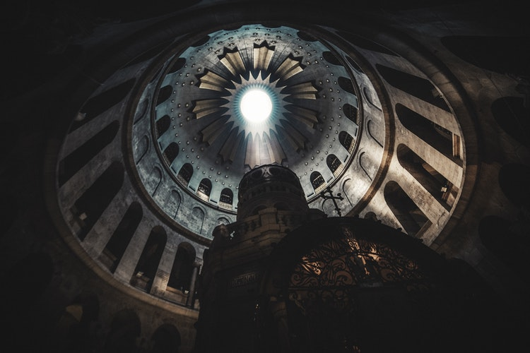 Why Spiritual Journeys are Always Solo Journeys, Girl Who Travels the World, Church of the Holy Sepulchre, Jerusalem