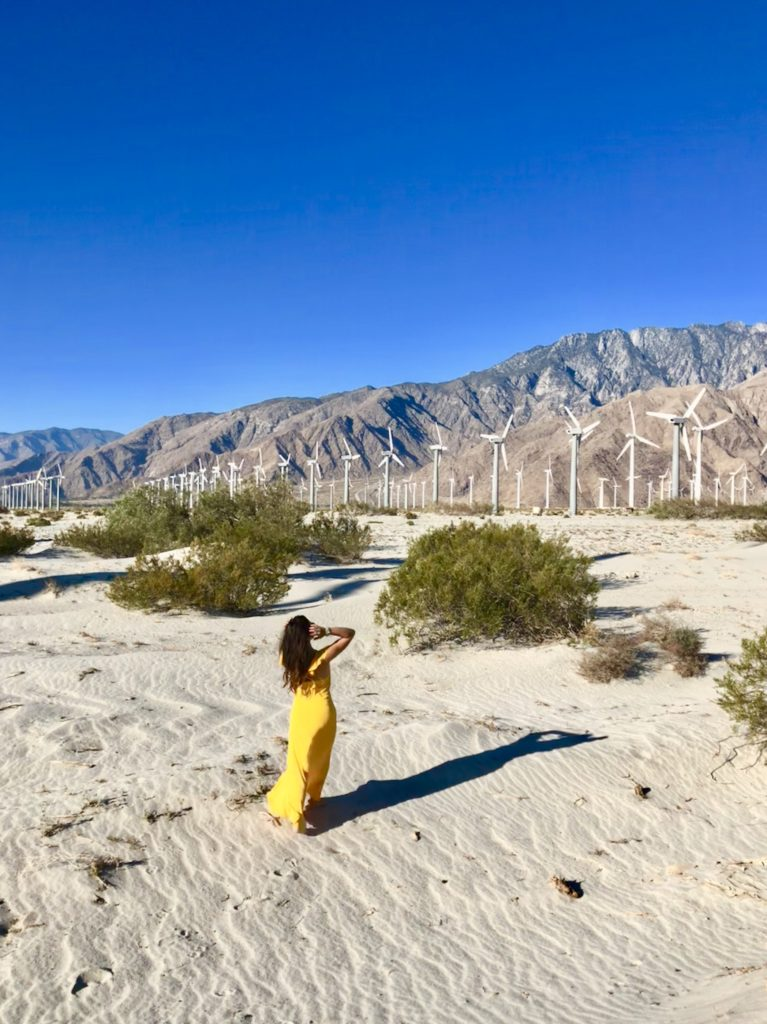 Tips for Photo Shoots at Palm Springs Windmills, Girl Who Travels the World