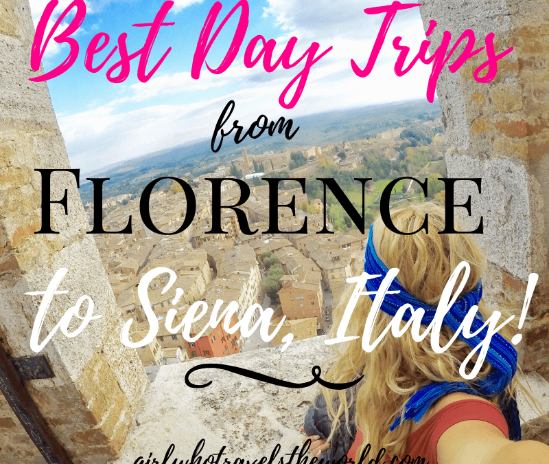 Best Day Trips from Florence to Siena, Italy!