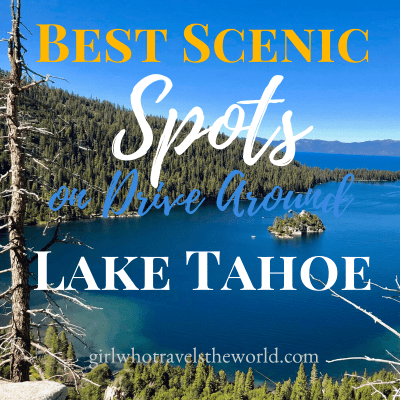Best Scenic Spots on Drive Around Lake Tahoe