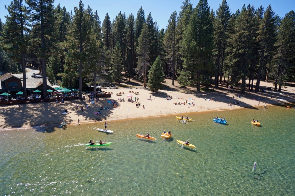 Best Luxury Lakefront Resorts in Lake Tahoe, Girl Who Travels the World, Camp Richardson