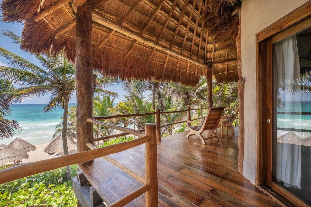 Where to Stay on the Beach in Tulum, Girl Who Travels the World, Encantada Tulum
