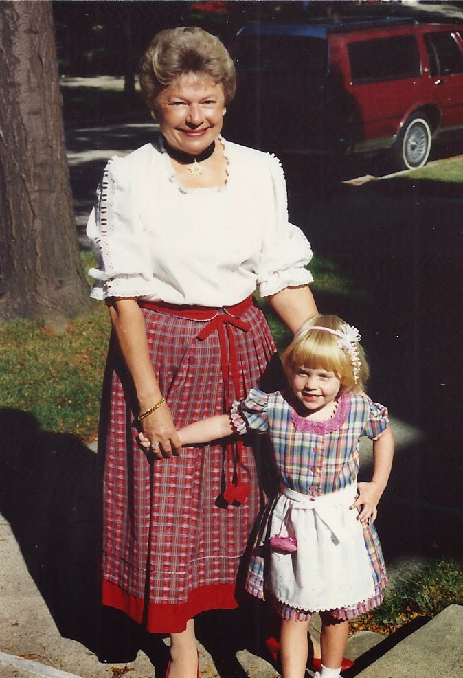 Q&A with Erika from Rare Dirndl, Girl Who Travels the World, Erika + her Grandmother