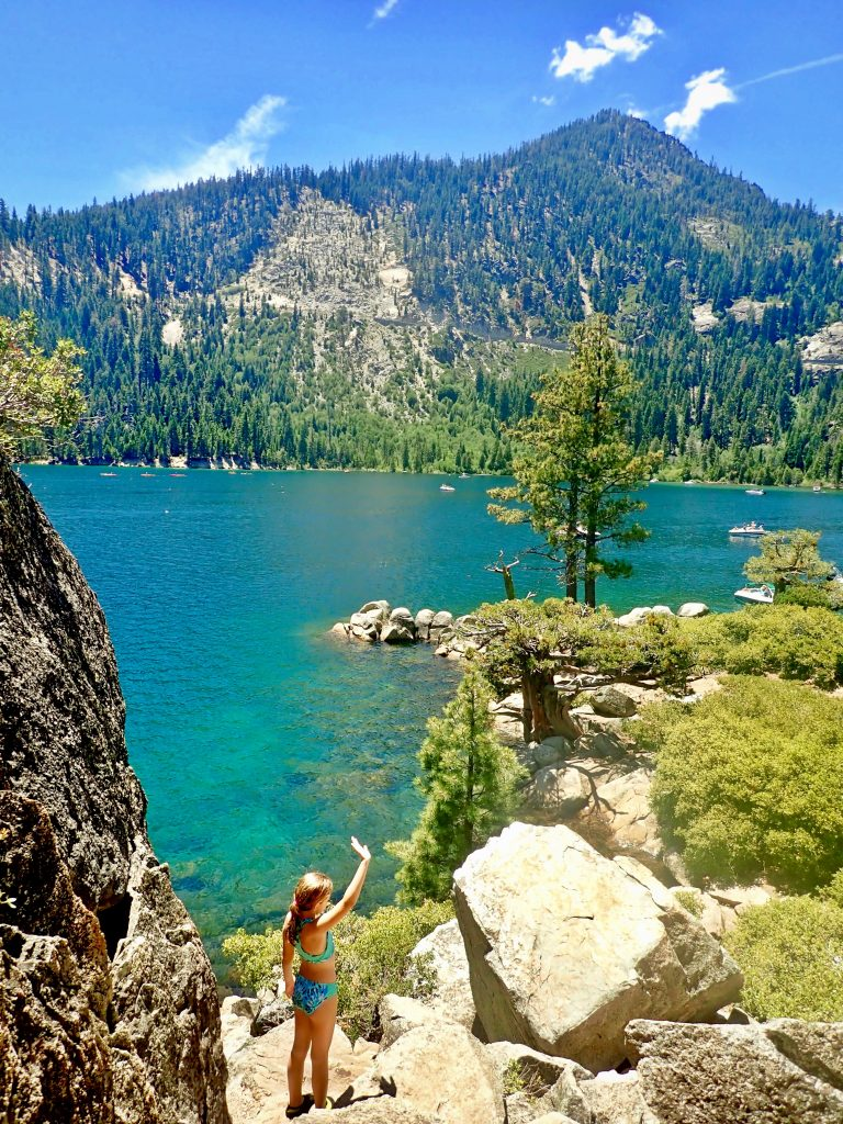 Best Scenic Stops on Drive Around Lake Tahoe, Girl Who Travels the World