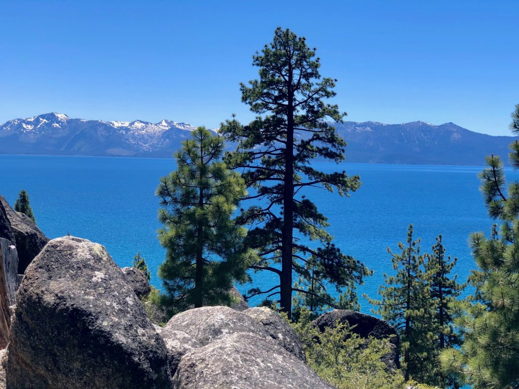 Best Scenic Spots on Drive Around Lake Tahoe, Girl Who Travels the World