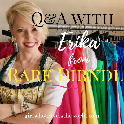 Q&A with Erika from Rare Dirndl!