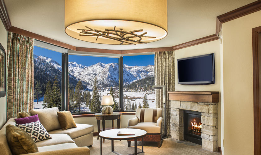 Best Ski-in Ski-out Resorts in Lake Tahoe, Girl Who Travels the World, Resort at Squaw Creek