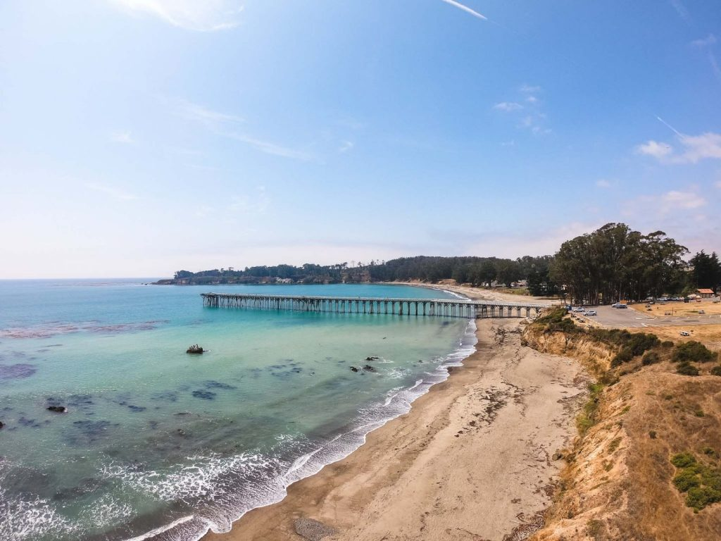 Best Off-Leash Dog Beaches in Central California, Girl Who Travels the World, San Simeon Cove