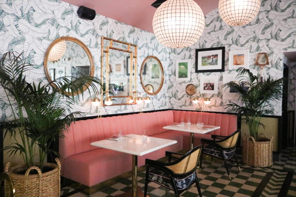 Best Brunch Spots in Palm Springs, Girl Who Travels the World, The Pink Cabana