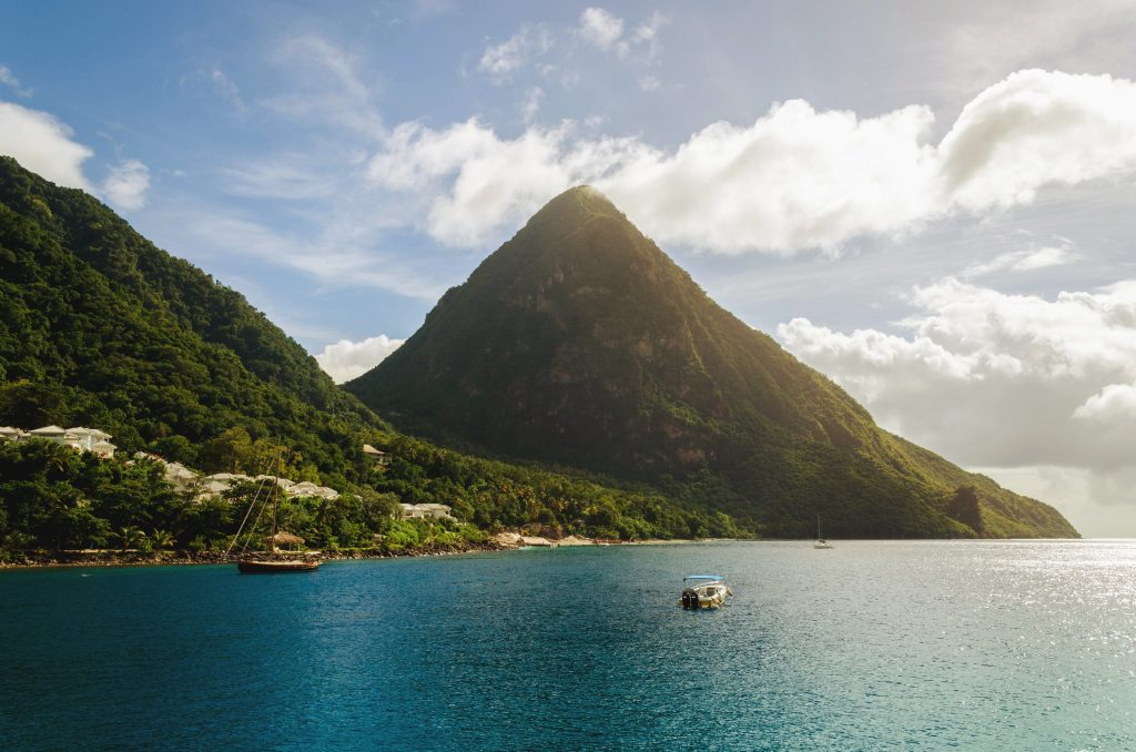 Best Warm Weather Beach Vacations for January and February, Girl Who Travels the World, St. Lucia in Carribbean