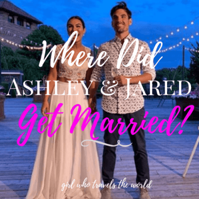 Where Did Jared and Ashley Get Married?
