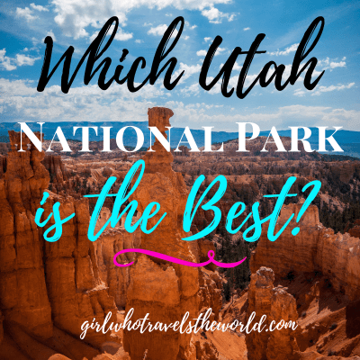 Which Utah National Park is the Best?