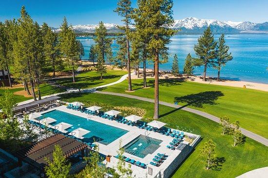 Best Luxury Lakefront Resorts in Lake Tahoe, Girl Who Travels the World, Edgewood Resort