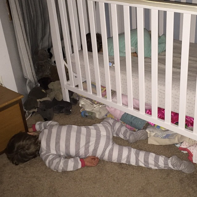 floor sleeping #realmomconfessions