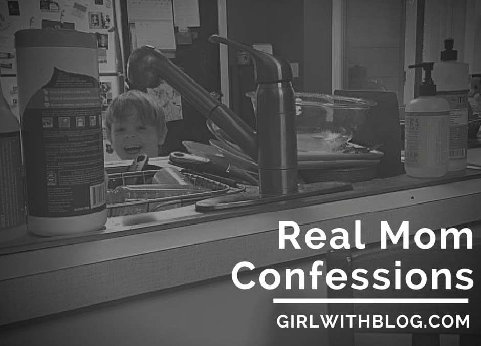 Real Mom Confessions: the link-up {week 3}
