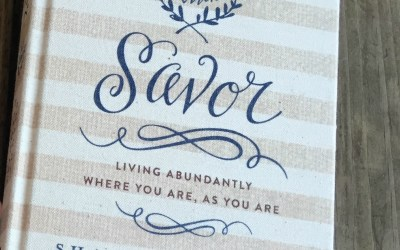 {book giveaway #4} Savor, by Shauna Niequist
