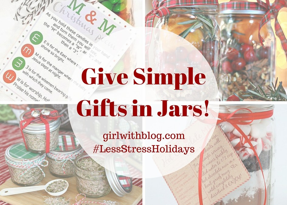 Day Thirteen :: Gifts in Jars