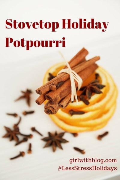 Stovetop Holiday Potpourri // girlwithblog.com