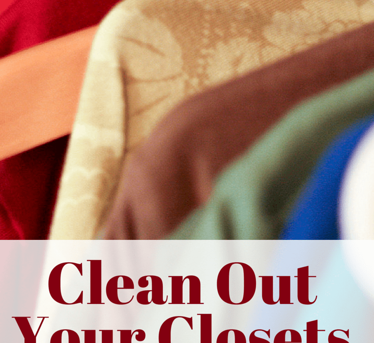 Day Nine :: Clean Out Your Closets