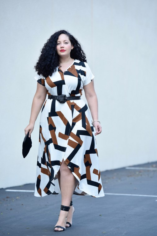 The High-Low Dress You Need Now via @GirlwithCurves