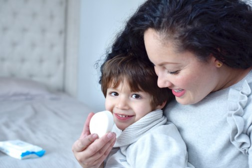 How To Care for Your Little One's Sensitive Skin via @GirlWithCurves