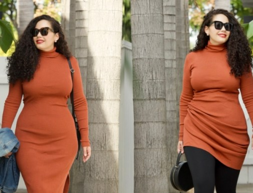 This $34 Sweater Dress is a Must-Have | Girl with Curves