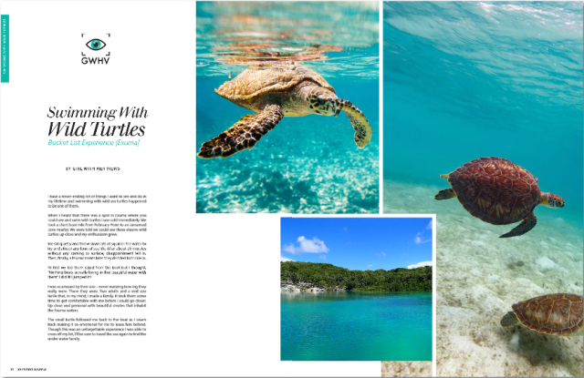Bahamian Escapes Magazine - GWHV Feature - Pg. 60