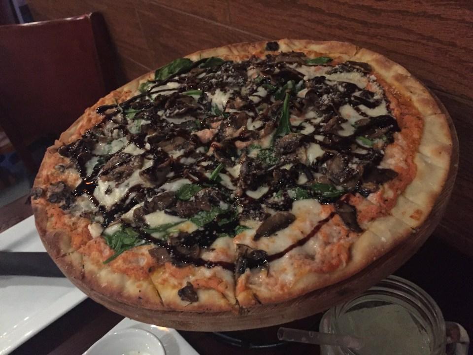 Wildfire - Wild Mushroom & Spinach Pizza
