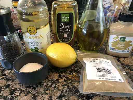 cilantro citrus vinaigrette ingredients