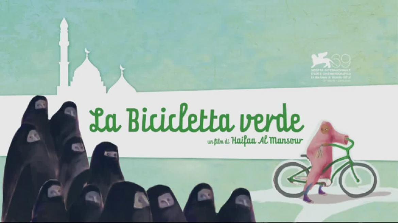 La locandina del film La bicicletta verde
