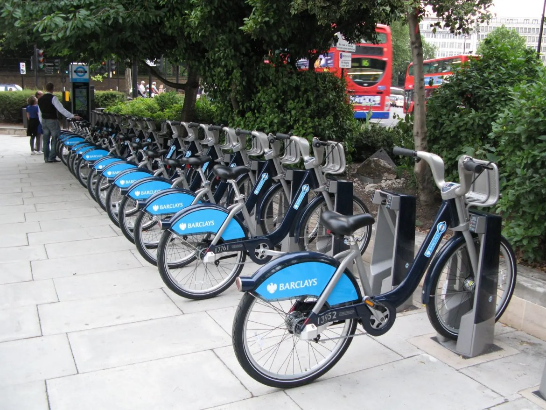 Bike sharing a Londra