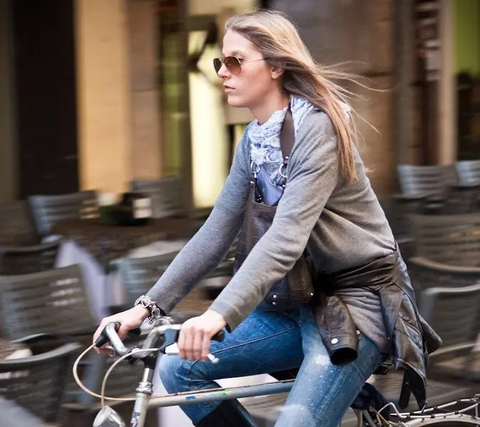 In bici per Padova, foto Italian Cycle Chic