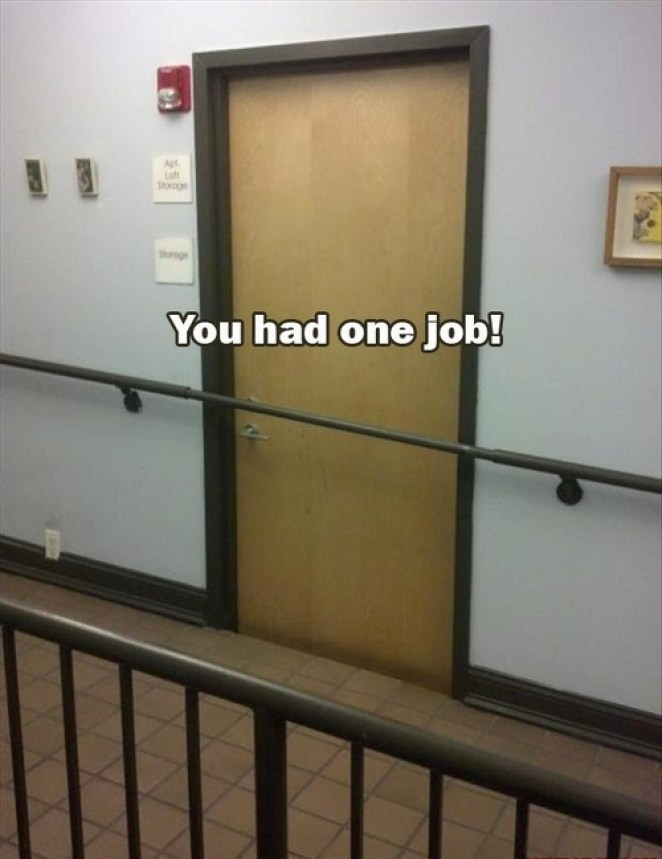 You Had One Job! - Girly Design Blog