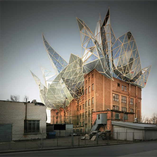 The Insane Architecture Creations of Victor Enrich - Digital Art Mix