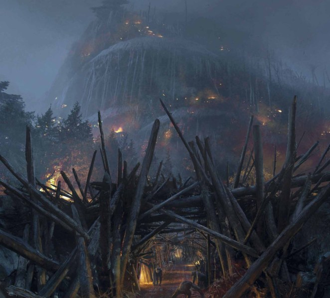 'Dawn of Planet of the Apes' - The Concept Art for the Movie - Kamino Saber
