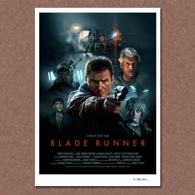 Re-imagined Movie Posters by Candykiller - Kamino Saber