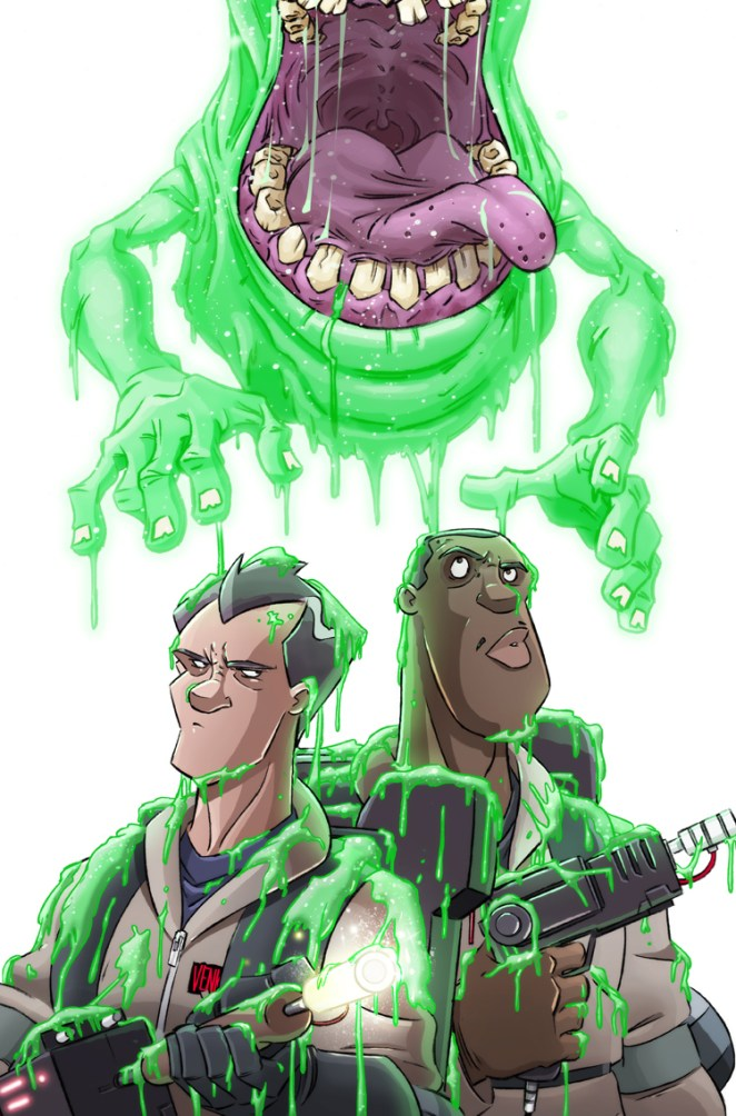 Celebrating the 30th Anniversary of Ghostbusters in Art - DESIGN MASH
