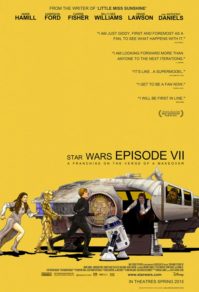 Star Wars Movie Poster Mash-Ups - Design Mash