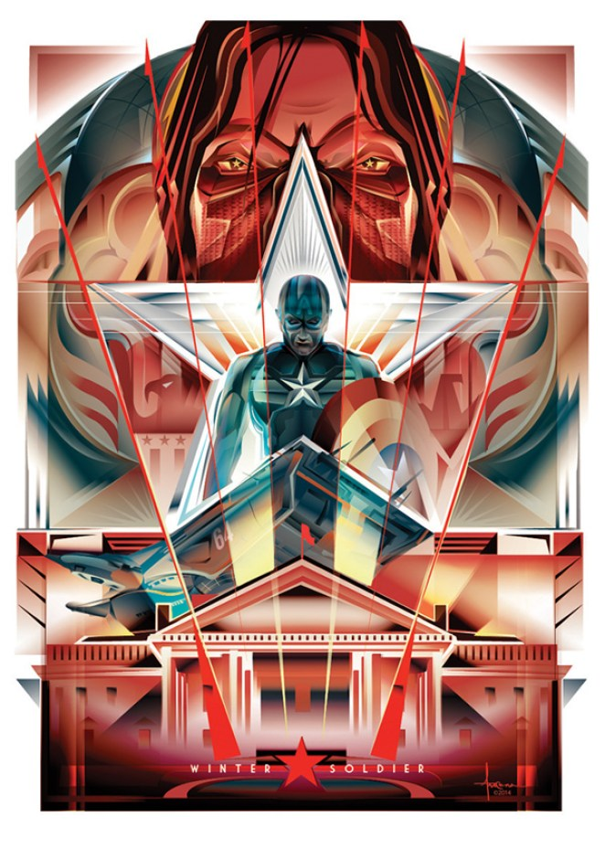 Stunning Vector Movie Posters - Design Mash