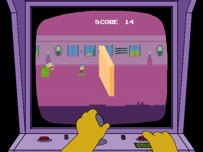 Play the Arcade Games Featured in The Simpsons - Design Mash