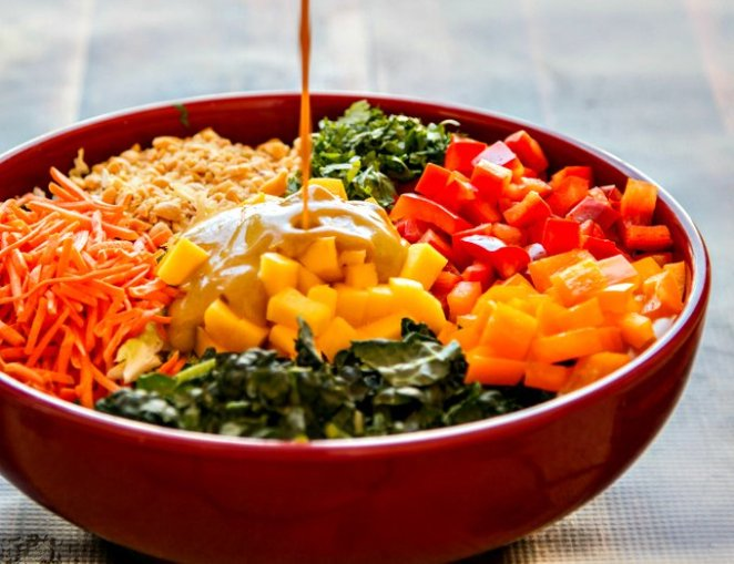 22 Colourful Rainbow Salad Ideas - Design Mash