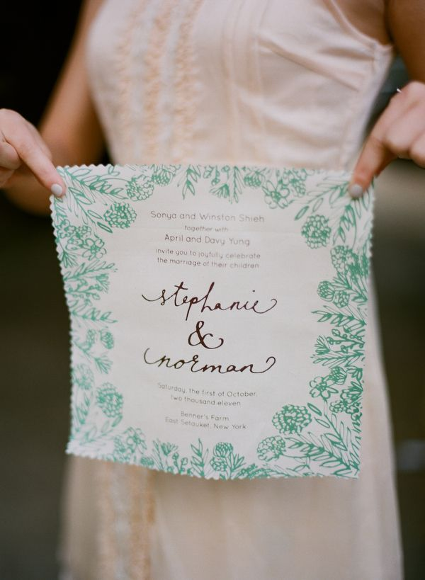 Imaginative Wedding Invitations for Inspiration - Girly Design Blog